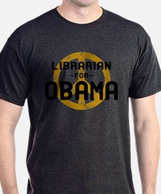 Librarian for Obama T-Shirt