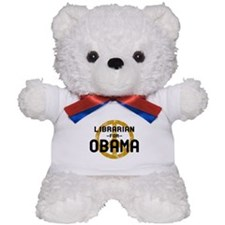 Librarian for Obama Teddy Bear