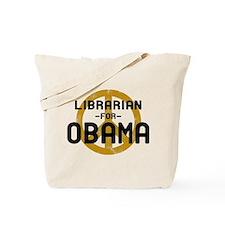 Librarian for Obama Tote Bag