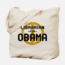 Librarian for Obama Tote Bag