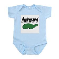 Awkward Turtle Infant Bodysuit