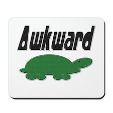 Awkward Turtle Mousepad