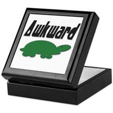 Awkward Turtle Keepsake Box
