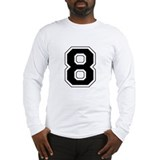 Number Long Sleeve T-shirts