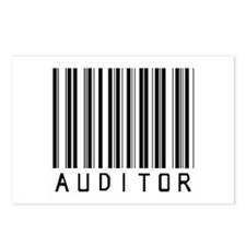 Auditor Barcode Postcards (Package of 8)