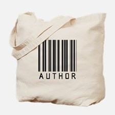 Author Barcode Tote Bag