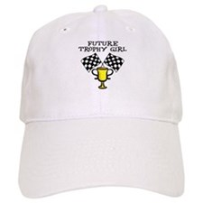 Future Trophy Girl Baseball Baseball Cap