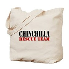 Chinchilla Rescue no fur Tote Bag