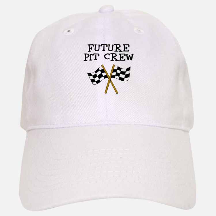 Future Pit Crew Baseball Baseball Cap