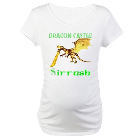 Dragon Castle Maternity T-Shirt