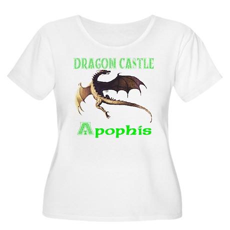 Dragon Castle Women's Plus Size Scoop Neck T-Shirt