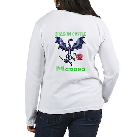 Dragon Castle Women's Long Sleeve T-Shirt