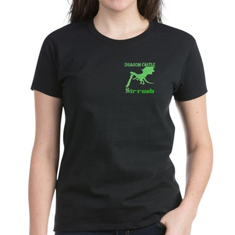 Dragon Castle Women's Dark T-Shirt