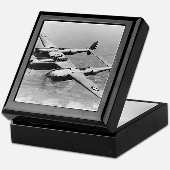 P-38 Lightning Keepsake Box