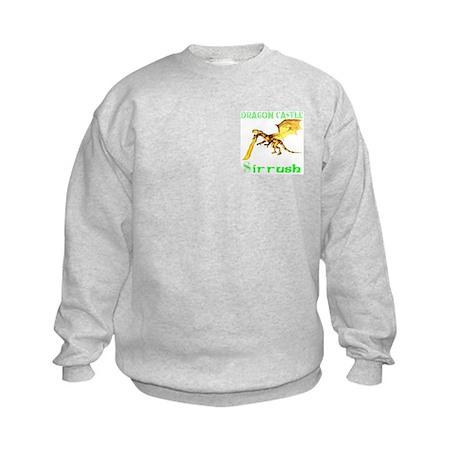 Dragon Castle Kids Sweatshirt