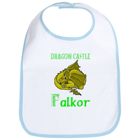 Dragon Castle Bib