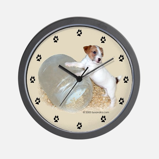 Jack Russell Terriers Wall Clock