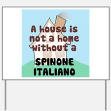 Spinone Home Yard Sign
