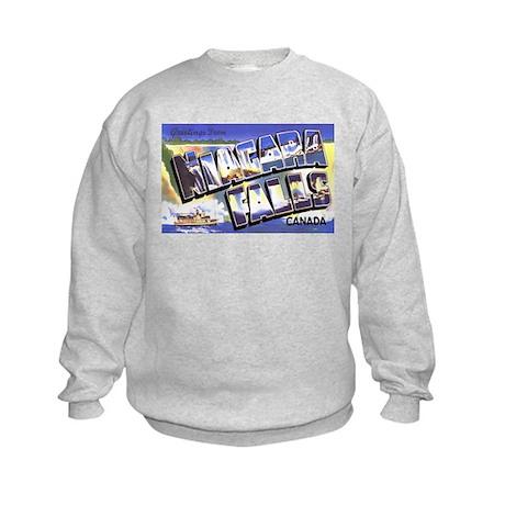 Niagara Falls Canada Kids Sweatshirt