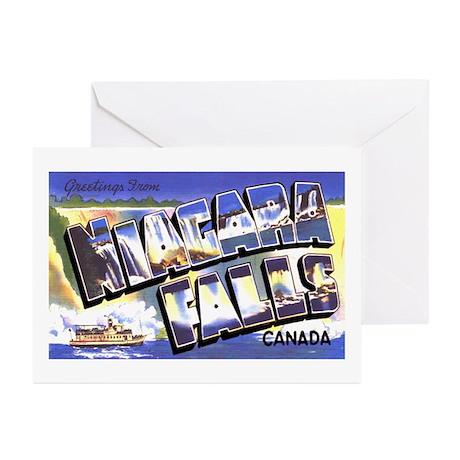 Niagara Falls Canada Greeting Cards (Pk of 20)