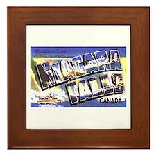 Niagara Falls Canada Framed Tile