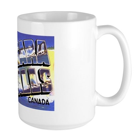 Niagara Falls Canada Large Mug