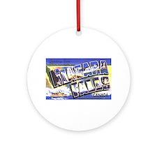 Niagara Falls Canada Ornament (Round)