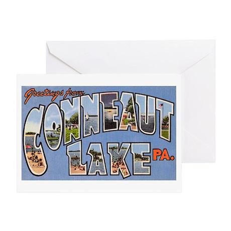 Conneaut Lake Pennsylvania Greeting Card
