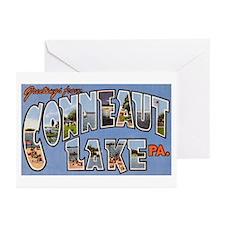Conneaut Lake Pennsylvania Greeting Cards (Pk of 1