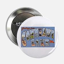 """Conneaut Lake Pennsylvania 2.25"""" Button"""