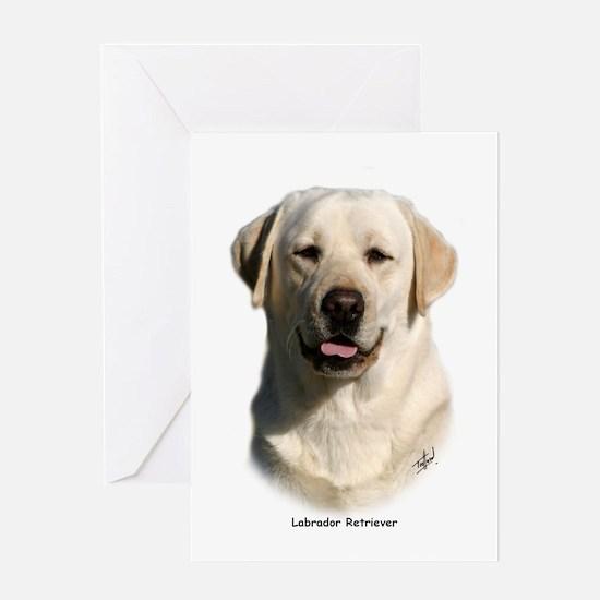 Labrador Retriever 9Y383D-267 Greeting Card