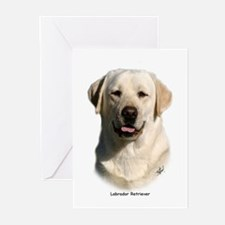 Labrador Retriever 9Y383D-267 Greeting Cards (Pk o