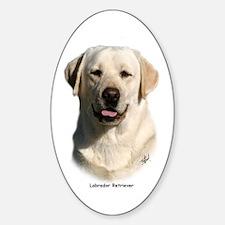 Labrador Retriever 9Y383D-267 Sticker (Oval)