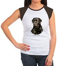 Labrador Retriever 9Y245D-018 Women's Cap Sleeve T