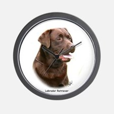 Labrador Retriever 9Y243D-004a Wall Clock