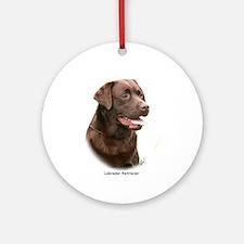 Labrador Retriever 9Y243D-004a Ornament (Round)