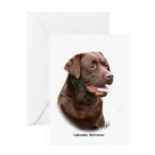 Labrador Retriever 9Y243D-004a Greeting Card