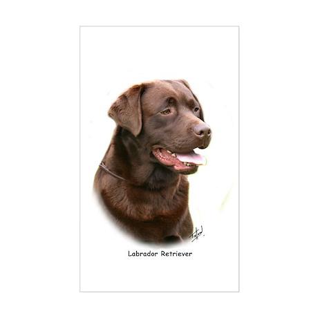 Labrador Retriever 9Y243D-004a Sticker (Rectangle)