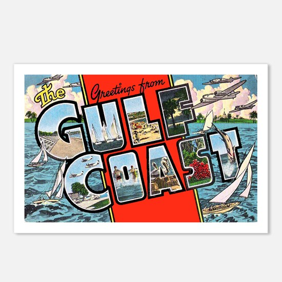 Gulf Coast Greetings Postcards (Package of 8)