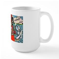 Gulf Coast Greetings Large Mug