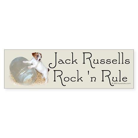 Jack Russell Terriers Bumper Sticker