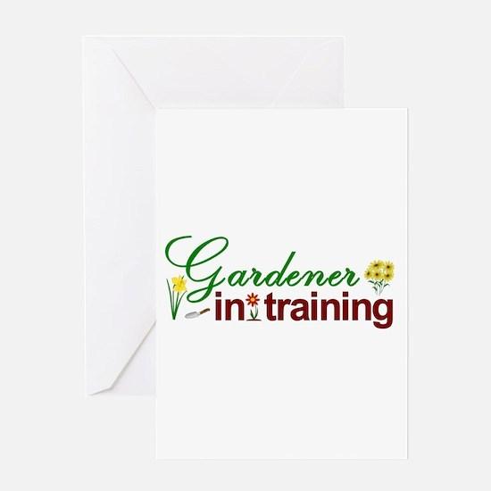 Gardener in Training Greeting Card