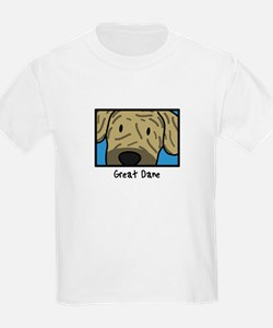 Anime Brindle Great Dane T-Shirt