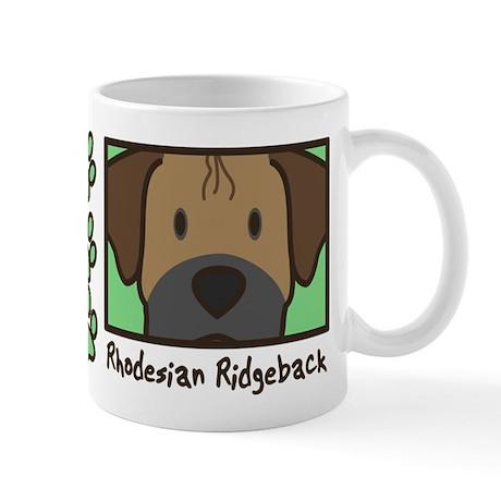Anime Rhodesian Ridgeback Mug