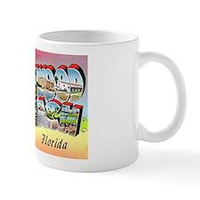 Hollywood Beach Florida Mug