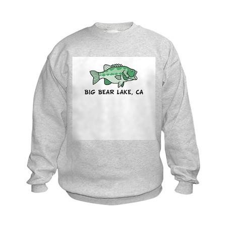Big Bear Lake, CA Kids Sweatshirt
