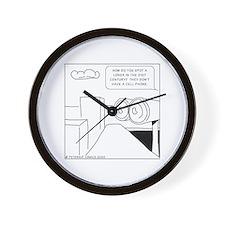 Unique Cellphone Wall Clock