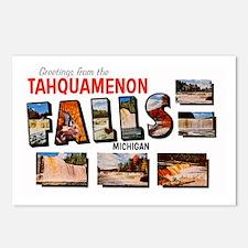 Tahquamenon Falls Michigan Postcards (Package of 8