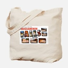 Tahquamenon Falls Michigan Tote Bag