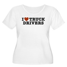 I Love Truck Drivers T-Shirt
